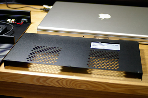 ELECOM SX-CLO8BKの背面カバー