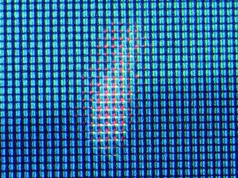 ブルー系の画面拡大