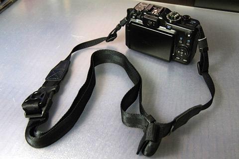 短いとき(Canon G11 + Ninja Strap 25mm)
