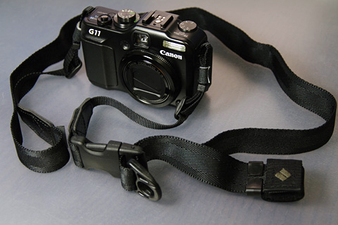 コンデジは25mm(Canon G11 + Ninja Strap 25mm)