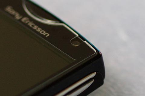 Sony Ericsson mini S51SE 画面上端