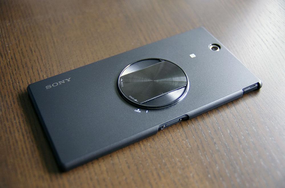 ソニー Xperia Z Ultra専用カメラアタッチメントケース「SPA-ACX3」